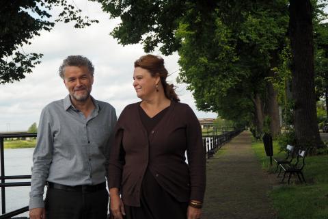 Wim Diepenhorst en Esther Linssen